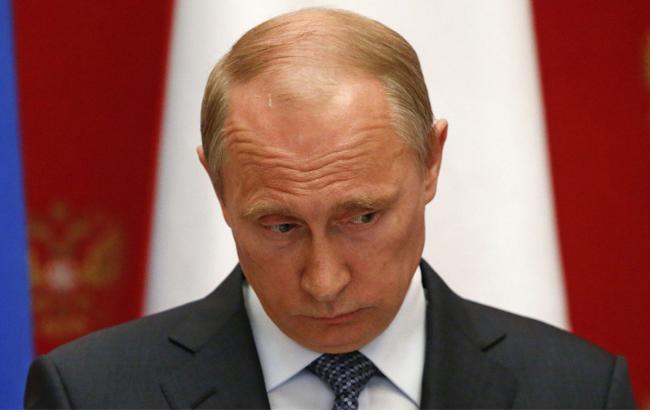 Фото: Володимир Путін сумує (goodbyeputin.ru)