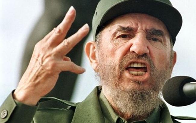 Фото: Фідель Кастро (ЕРА)