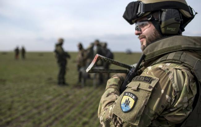 """Фото: """"Азов"""" спростовує затримання командира його розвыдувального підрозділу"""