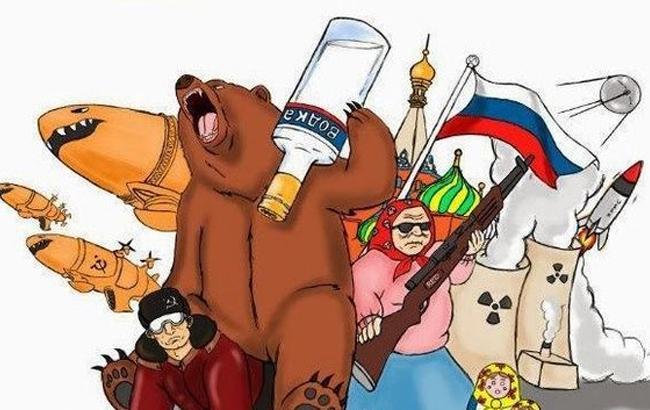 Фото: Россия - карикатура (Обозреватель)