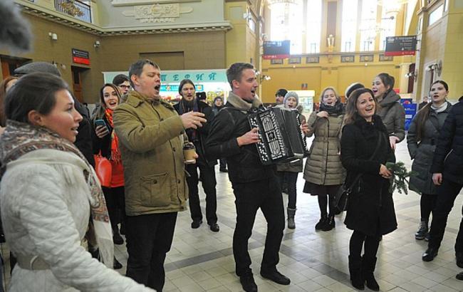 Фото: Одесский вокзал (e-gorlovka.com.ua)