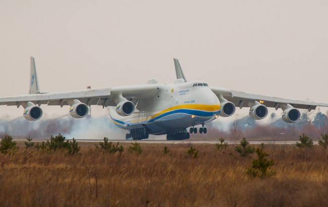 """Фото: Ан-225 """"Мрія"""" (Facebook)"""