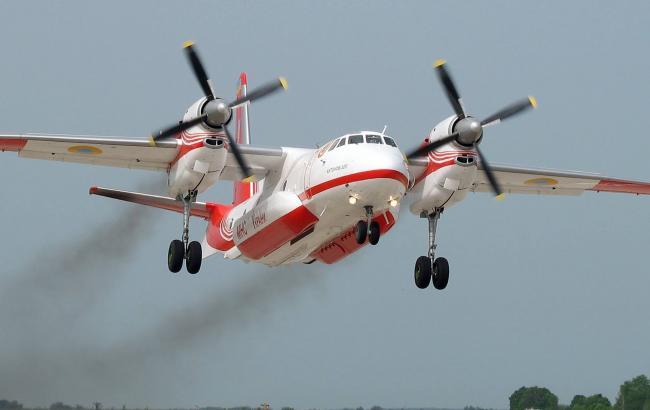 Фото: Украинский спасательный самолет (112 Украина)