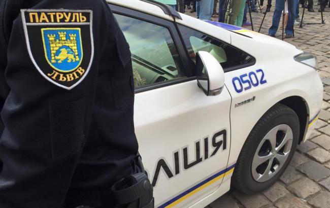 Фото: Полиция Львова (segodnya.ua)