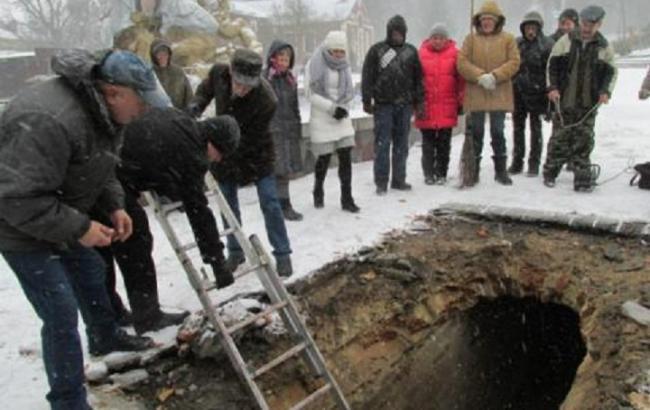 Фото: Історична знахідка в Рівному (7d.rv.ua)