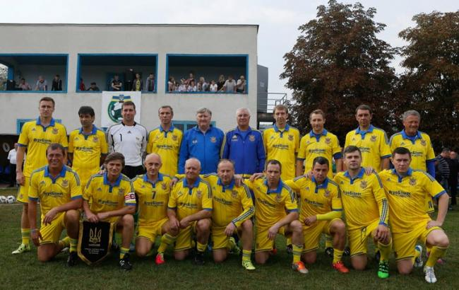 Футбольная сборная Украины среди ветеранов стала победителем турнира в США