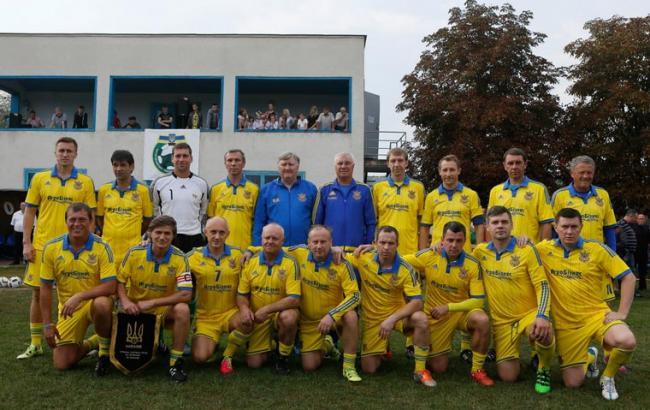 Фото: Збірна України з футболу серед ветеранів (mig.com.ua)