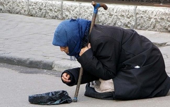 Фото: Жебрака на вулиці (bessarabiainform.com)