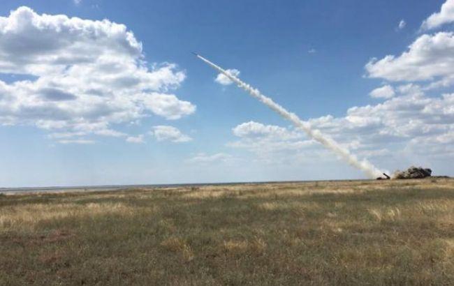 Фото: ракетные учения возле Крыма