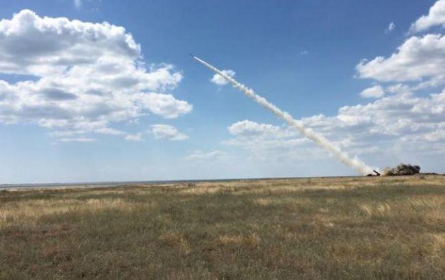 Фото: ракетні навчання біля Криму