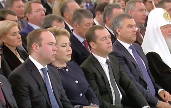 Фото: Чиновники Росії (Twitter)