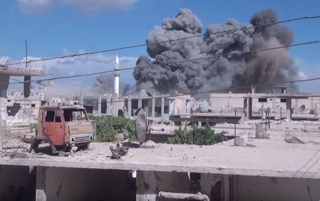США заявили про перший авіаудар РФ в Сирії