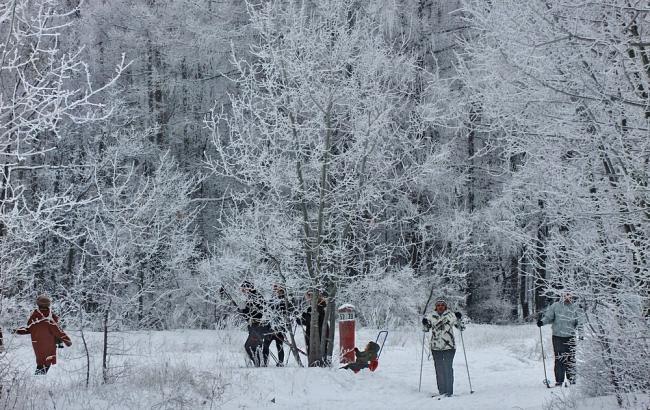 Фото: В Украину грядут морозы (ZakNEWS)