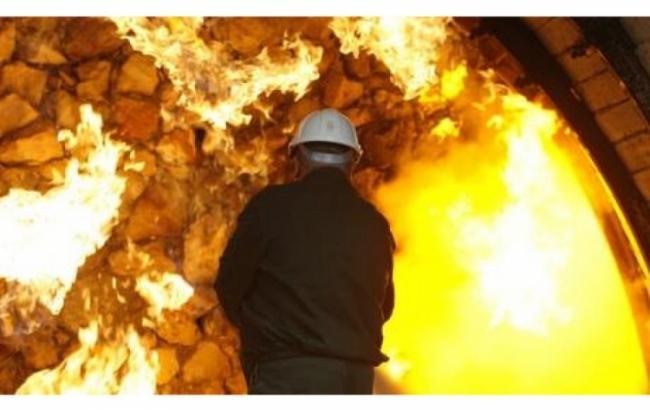В Киеве произошел сильный пожар
