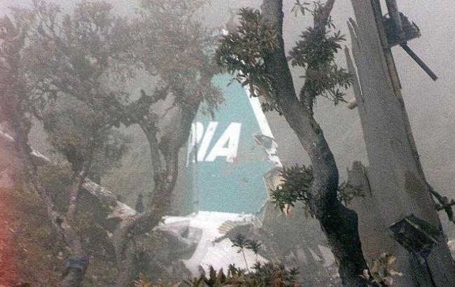 ВПакистане наместе крушения самолета отыскали «черный ящик»