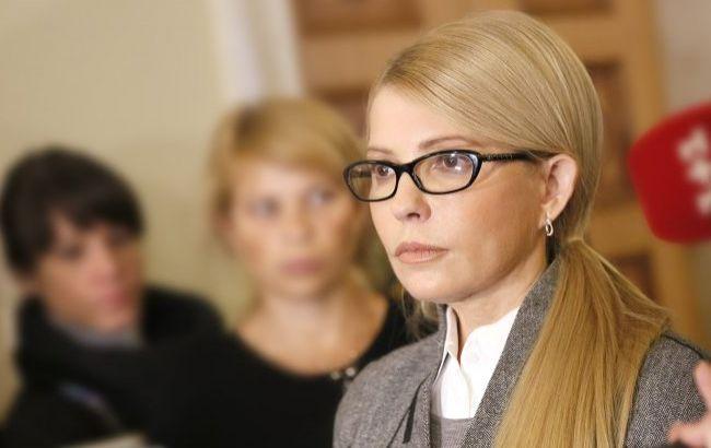 Тимошенко обвинила Порошенко втайных договоренностях поДонбассу