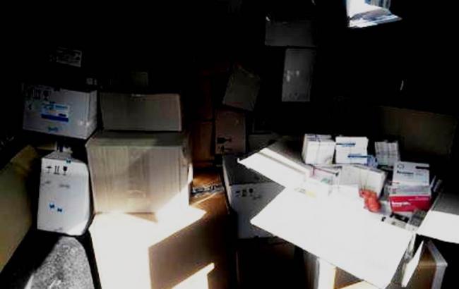 Фото: СБУ затримала вантаж ліків на 400 тис. грн, який прямував в ДНР