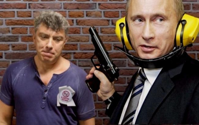 Фото: Путин и Немцов (wsjournal.ru)