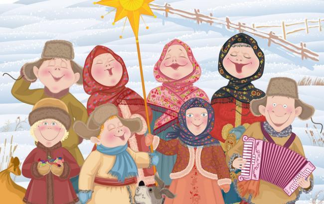 Фото: Колядки на Різдво (Tochka.net)