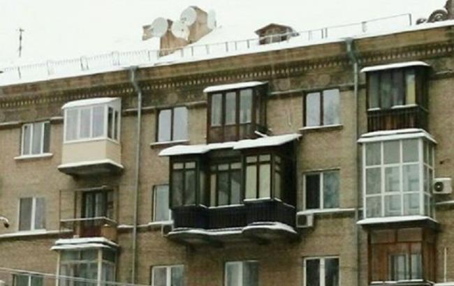"""У Києві знайшли новий """"розкішний"""" балкон"""