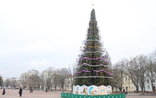Фото: Ялинка в Хмельницькому