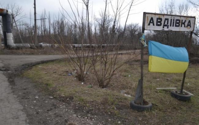 Фото: боевики снова обстреляли Авдеевку