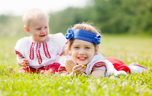 Фото: Дети в Украине