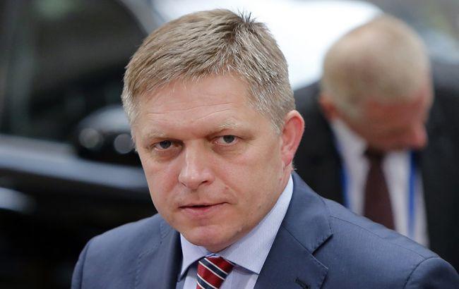 Премьера Словакии оштрафовали на200евро