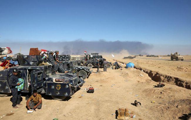 Фото: военный действия в Мосуле