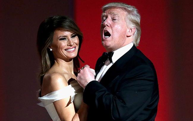 Фото: Перший танець Трампа