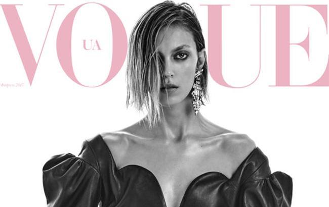 Фото: Аня Рубик в Vogue UA