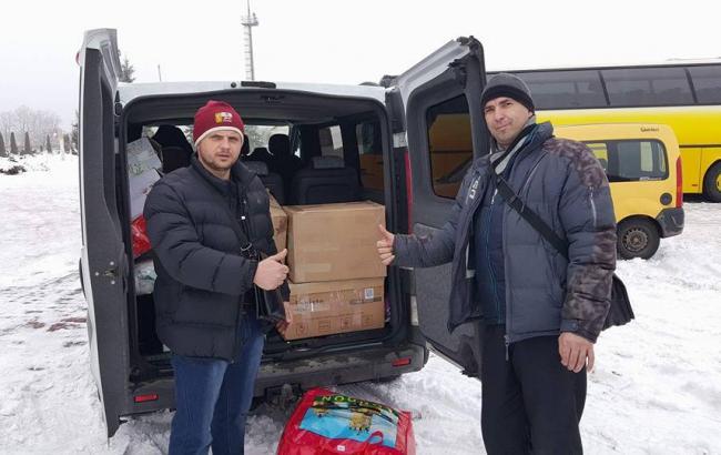 Фото: Украинские волонтеры