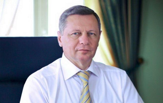 Городской голова Луцка Николай Романюк находится вкоме