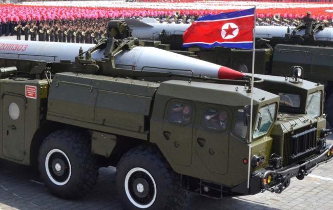 Фото: в КНДР запустили очередную баллистическую ракету