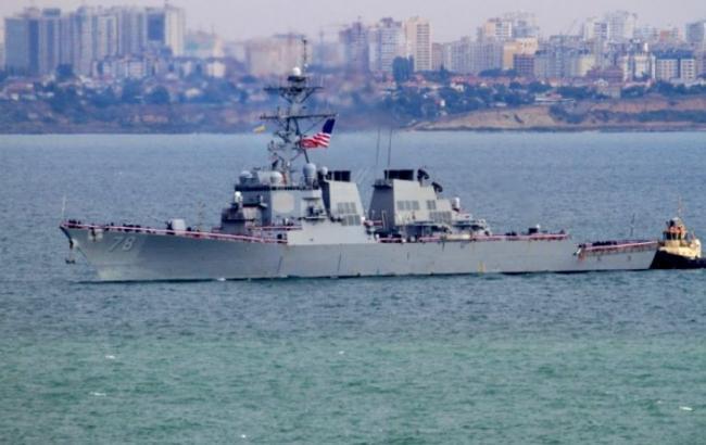 Фото: эсминец США