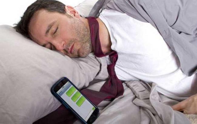 Фото: Сплячий чоловік