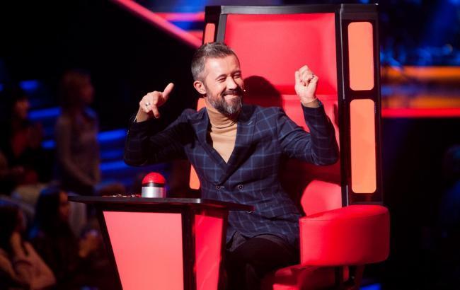 Фото: Шоу Голос країни 7 сезон - судья Сергей Бабкин