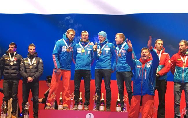 Фото: Команда РФ по биатлону
