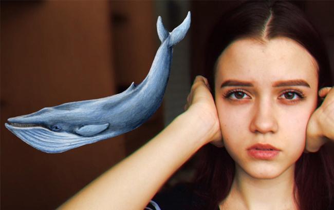 """Фото: Суицидальные группы """"Синий кит"""""""