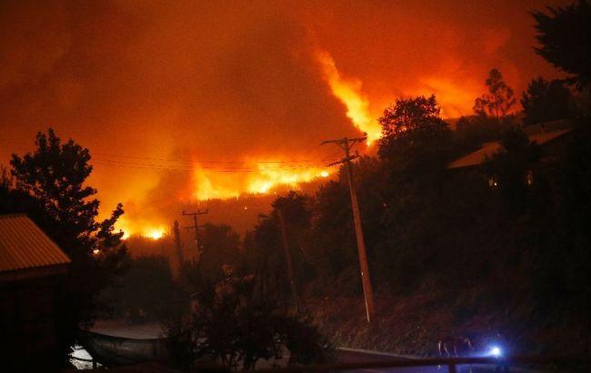 Збиток від пожеж у Чилі оцінений в 300 млн доларів