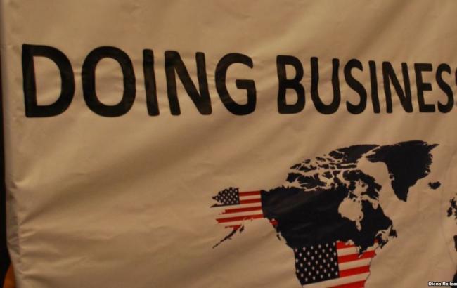 Україна піднялася на 13 позицій у рейтингу Doing Business