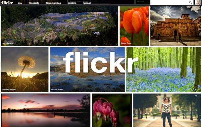 Фото: Flickr можна шукати схожі зображення
