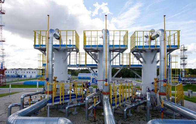 Украина прекратила отбор газа изхранилищ