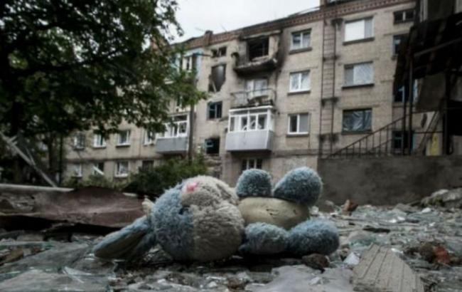 Фото: психосоциальная поддержка нужна 200 тысячам детей на Донбассе