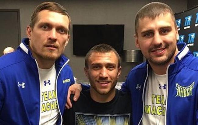 Фото: Ломаченко, Усик и Гвоздик