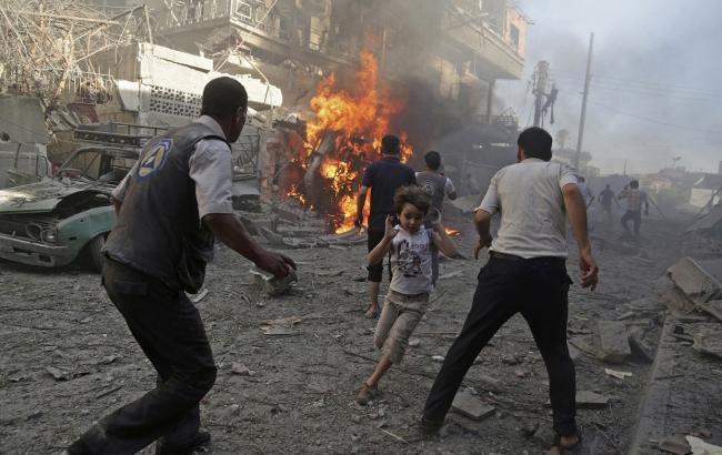 Кількість жертв вибуху вАлеппо збільшилася до112 осіб