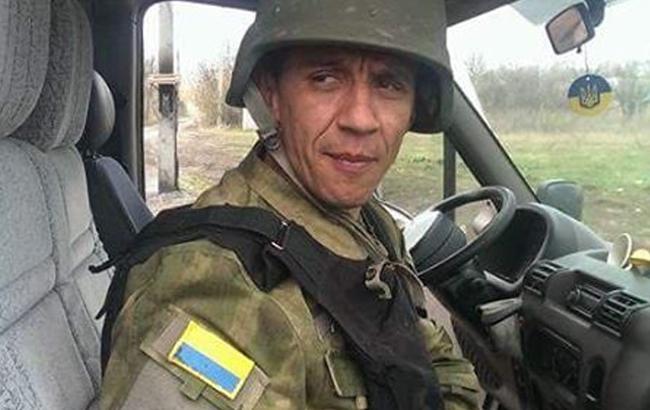 Фото: Боец АТО, похожий на Барака Обаму (facebook.com/profile.php?id=100000828276750)