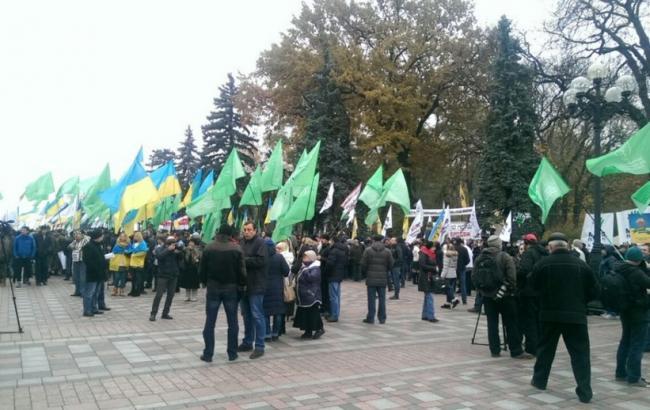 УКРОП проводить мітинг під Верховною Радою: онлайн-трансляція