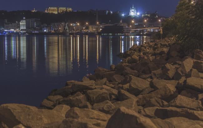 У мережі з'явилося вражаюче відео нічного Києва на Великдень