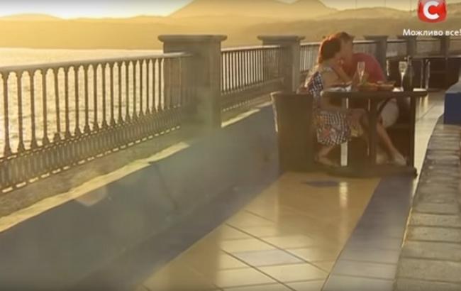 Свидание на проекте/Кадр из видео Youtube-канала Холостяк